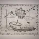 Vertrag Schweiz-Ägypten, 1996, 24x30cm