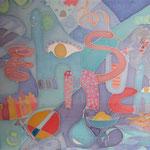 Suchen, 1998, 60x50cm