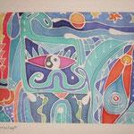 Mutterschaft, 1991, 30x24cm