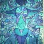 Mu oder die Vielfalt der Realitäten des Weiblichen, 1990, 70x60cm