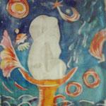 Wunderkelch, 1991, 58x50cm