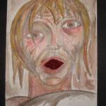 Verwirrung (Elfie), 1990, 34x24cm