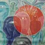 Brennpunkt des Teufels, 1991, 70x100cm