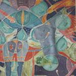 Extasen, 1991, 100x70cm