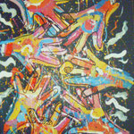 hands, 1991, 70x50cm