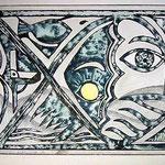Sonnenuhr, 1991, 30x40cm