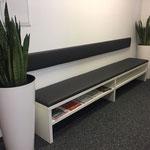 Sitzbank_Weiß/Leder