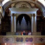 Guido Fonsatti, organo; Domenico Di Micco, Tenore