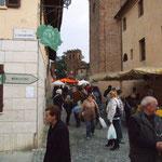 Verso la piazza della Chiesa