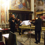 Hybris Baroque ensemble, Alberto Asero, violino, Matteo Pasqualini, clavicembalo, Simone Baroni, violino, Matteo Cicchitti, violone