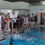 HBG Schwimmer am Start