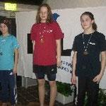 1. Platz Alina von Bestenbostel Jg. 1998, 400 m Lagen