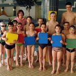Bronze mit Trainerin Regine und Niklas