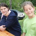 Schwestern Lena und Kira