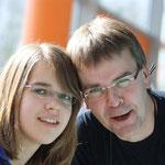Tochter und Vater