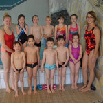 Seepferdchengruppe mit Michelle, Lina und Hiltrud (wo ist sie denn?)
