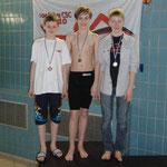 Christian, rechts, 2. Platz Gesamtwertung