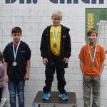 Max auf Platz 3, Bronzemedaille