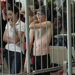 Julius hinter Gittern