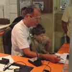 Kurt Trumtrar und Enkel
