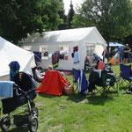 das Lager der SG