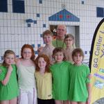 stolze MTVE Schwimmer