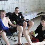 Lars Ole, Robert und Lars Erik