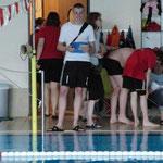 Ole ist Schwimmrichter