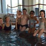 Seepferdchengruppe mit Reena und Fiona