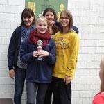 Staffel Nicole, Lena hinten,  Merle und Lina vorn von der SG