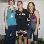 Offene Wertung 3. Platz Alina von Bestenbostel 400 m Lagen, rechts