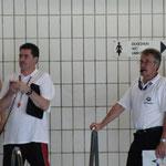 Starter Jörg Lorenzen und Schiedsrichter Gerd Anklam