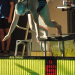 Katharina springt hinein