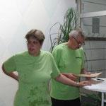 Katja und Burkhard vom TSV Wietze