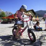 Für Kinder gibt es Spaßfahrzeuge im Rahmen der SAMO Karte  zum Ausleihen
