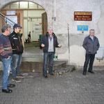 Vorstand Georg Vogl von der Genossenschaftsbrauerei dankte für die Nominierung (Festbier Heimatfest)