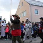 Initiator und Motivator der Märchengruppe: Unser Wolfe