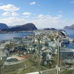 Blick auf Ålesund