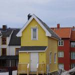 kleines Häuschen in Tromsø