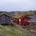 im Freilichtmuseum, Fischerhütten