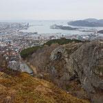 Blick über Bodø
