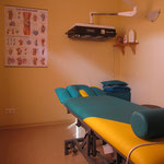 Behandlungsraum Phsyiotherapie