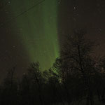 Die Nordlichtfotos sind nicht immer so schön
