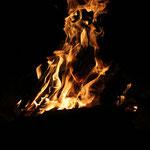 Lagerfeuer in Gjøken