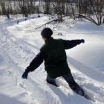 Ein bißchen Schnee