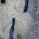Mischtechnik auf Leinwand, 80 x 80 cm