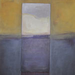 """Vollmond II"",  Acryl auf Leinwand, 90 x 100 cm"