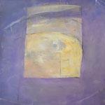 """Vollmond I"",  Acryl auf Leinwand, 90 x 100 cm"