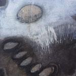 Mischtechnik auf Leinwand, 80 x 80 x4  cm