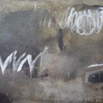 Mischtechnik auf Leinwand, 102 x 87 cm